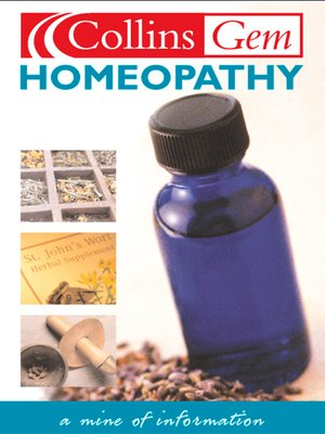 cover image of Homeopathy