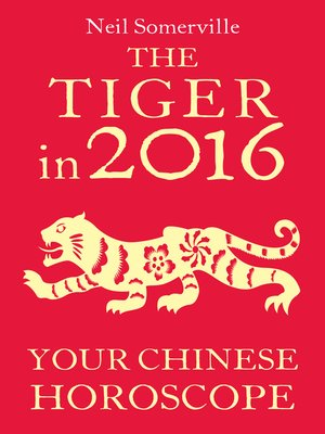 cover image of The Tiger in 2016