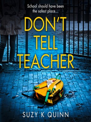 cover image of Don't Tell Teacher