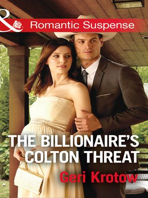 cover image of The Billionaire's Colton Threat