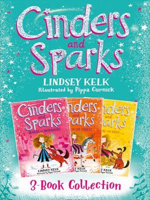 cover image of Cinders & Sparks 3-book Story Collection