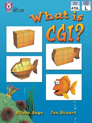 cover image of Collins Big Cat – What Is CGI?