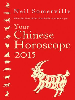 cover image of Your Chinese Horoscope 2015