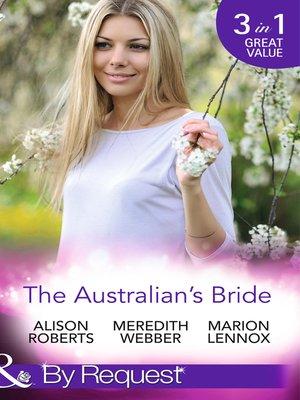 cover image of The Australian's Bride