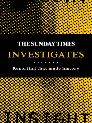 cover image of The Sunday Times Investigates