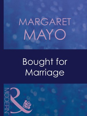 cover image of Bought for Marriage