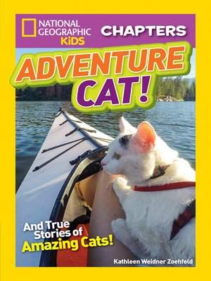 cover image of National Geographic Kids Chapters: Adventure Cat!