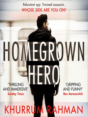 cover image of Homegrown Hero (Jay Qasim, Book 2)