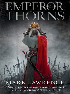 cover image of Emperor of Thorns