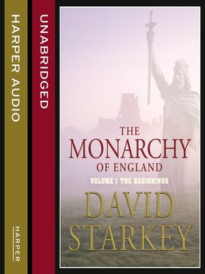 cover image of The Monarchy of England