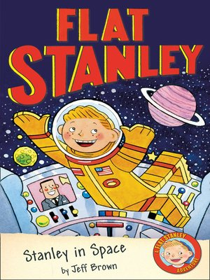 cover image of Flat Stanley in Space