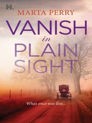 cover image of Vanish in Plain Sight