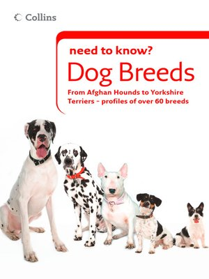 cover image of Dog Breeds