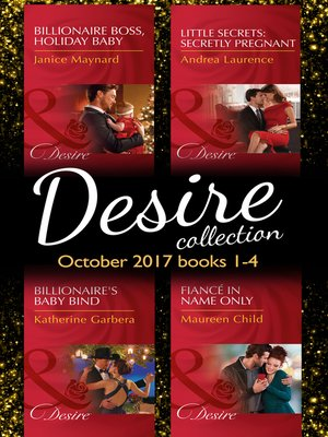 cover image of Desire Collection: October Books 1--4