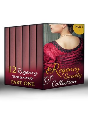 cover image of Regency Society Collection Part 1