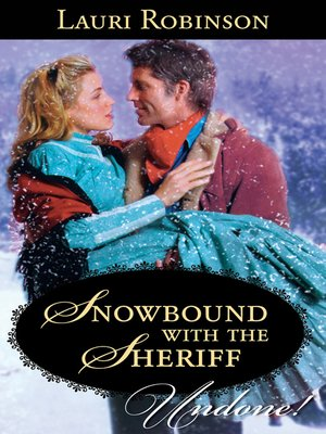 cover image of Snowbound with the Sheriff