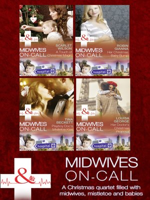 cover image of Midwives On-Call At Christmas