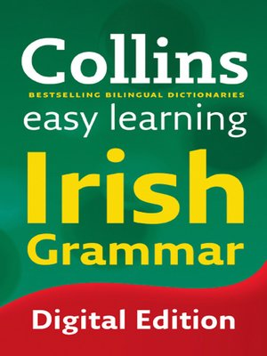 cover image of Collins Easy Learning Irish Grammar