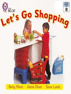 cover image of Collins Big Cat – Let's Go Shopping