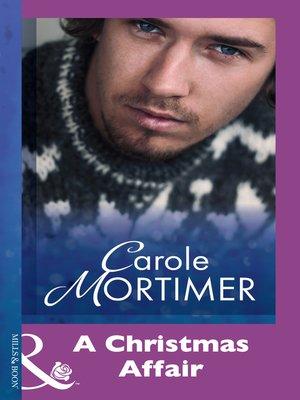 cover image of A Christmas Affair