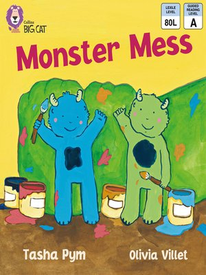 cover image of Collins Big Cat – Monster Mess