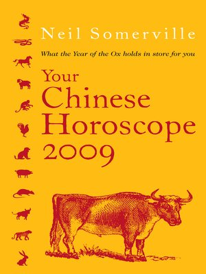 cover image of Your Chinese Horoscope 2009