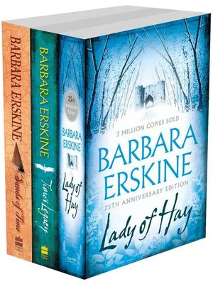 cover image of Barbara Erskine 3-Book Collection