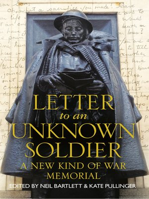 cover image of Letter to an Unknown Soldier