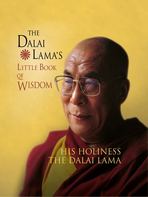 cover image of The Dalai Lama's Little Book of Wisdom