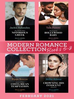 cover image of Modern Romance February 2021 Books 5-8