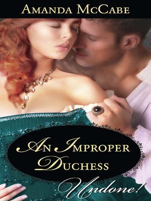 cover image of An Improper Duchess