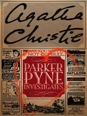 cover image of Parker Pyne Investigates