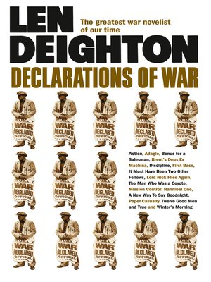 cover image of Declarations of War
