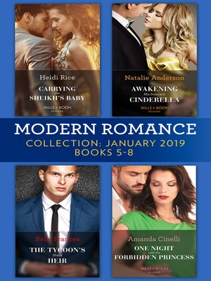 cover image of Modern Romance January Books 5-8