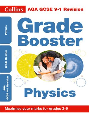 cover image of AQA GCSE 9-1 Physics Grade Booster for grades 3-9