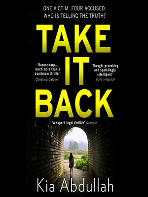 cover image of Take It Back