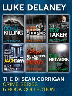 cover image of DI Sean Corrigan Crime Series