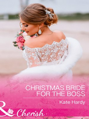 cover image of Christmas Bride For the Boss