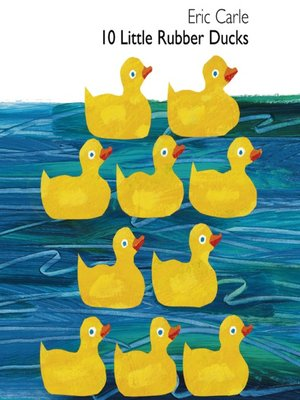 cover image of 10 Little Rubber Ducks