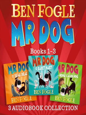 cover image of Mr Dog 3-book Audio Collection