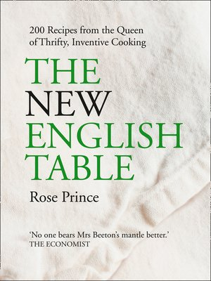 cover image of The New English Table