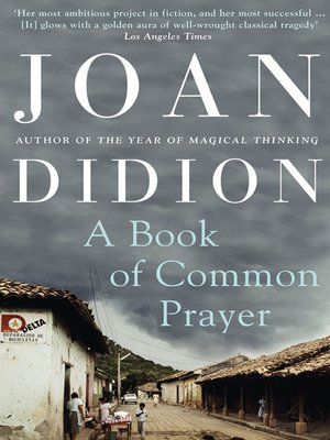 cover image of A Book of Common Prayer
