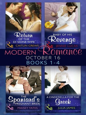 cover image of Modern Romance October 2016 Books 1-4