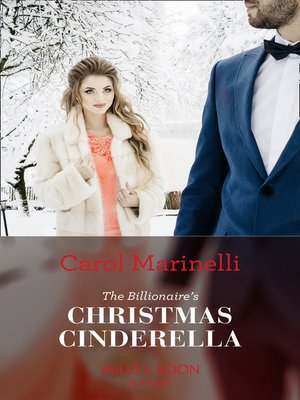 cover image of The Billionaire's Christmas Cinderella