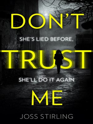 cover image of Don't Trust Me