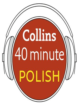 cover image of Polish in 40 Minutes