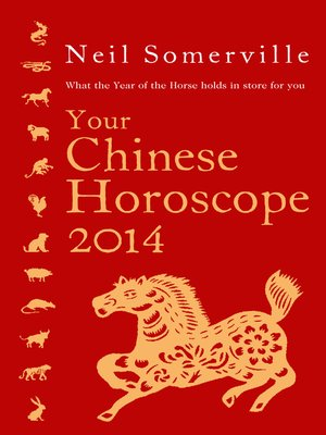 cover image of Your Chinese Horoscope 2014