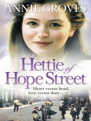 cover image of Hettie of Hope Street