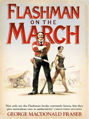 cover image of Flashman on the March