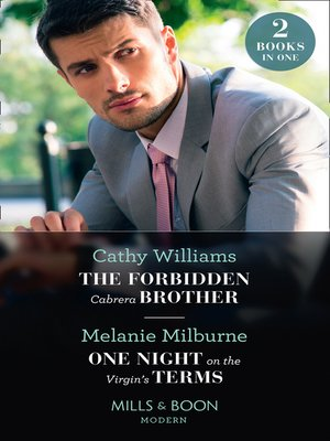 cover image of The Forbidden Cabrera Brother / One Night On the Virgin's Terms